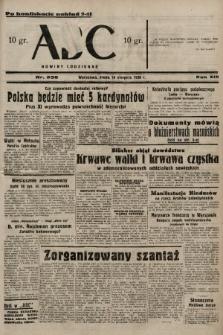 ABC : nowiny codzienne. 1938, nr236 A [ocenzurowany] |PDF|