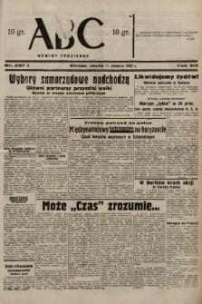 ABC : nowiny codzienne. 1938, nr237 A |PDF|