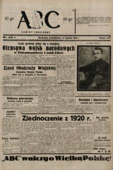 ABC : nowiny codzienne. 1938, nr241 A |PDF|