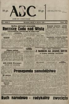 ABC : nowiny codzienne. 1938, nr242 A  PDF 