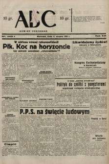 ABC : nowiny codzienne. 1938, nr243 A  PDF 