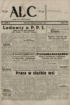 ABC : nowiny codzienne. 1938, nr244 A |PDF|