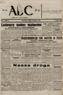 ABC : nowiny codzienne. 1938, nr245 A |PDF|