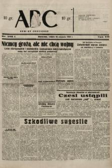 ABC : nowiny codzienne. 1938, nr246 A |PDF|