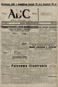 ABC : nowiny codzienne. 1938, nr247 A |PDF|