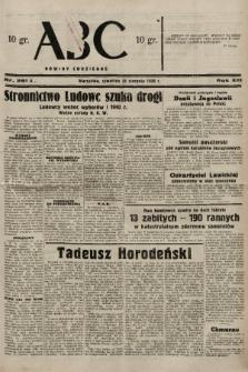 ABC : nowiny codzienne. 1938, nr251 A |PDF|