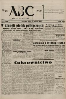 ABC : nowiny codzienne. 1938, nr253 A |PDF|