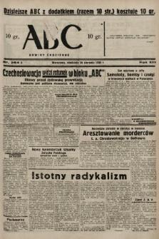 ABC : nowiny codzienne. 1938, nr254 A |PDF|