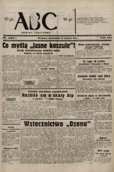 ABC : nowiny codzienne. 1938, nr255 A  PDF 