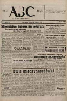 ABC : nowiny codzienne. 1938, nr256 A |PDF|