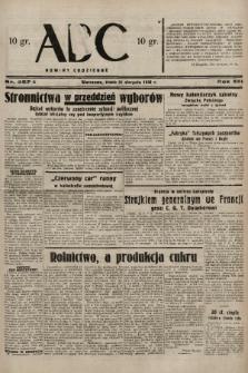 ABC : nowiny codzienne. 1938, nr257 A |PDF|