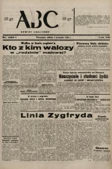 ABC : nowiny codzienne. 1938, nr260 A |PDF|