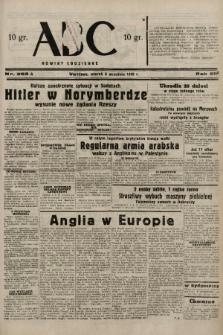ABC : nowiny codzienne. 1938, nr263 A |PDF|