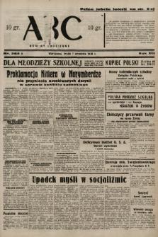 ABC : nowiny codzienne. 1938, nr264 A |PDF|