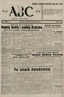 ABC : nowiny codzienne. 1938, nr265 A |PDF|