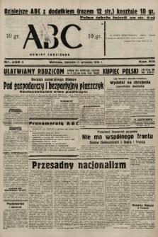 ABC : nowiny codzienne. 1938, nr268 A |PDF|