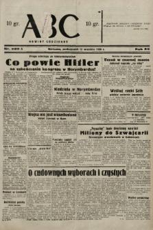 ABC : nowiny codzienne. 1938, nr269 A |PDF|