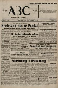 ABC : nowiny codzienne. 1938, nr273 A  PDF 