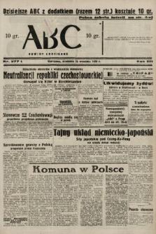 ABC : nowiny codzienne. 1938, nr277 A |PDF|