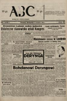 ABC : nowiny codzienne. 1938, nr278 A |PDF|