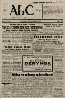 ABC : nowiny codzienne. 1938, nr279 A |PDF|