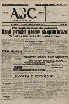 ABC : nowiny codzienne. 1938, nr283 A [ocenzurowany]  PDF 