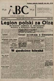 ABC : nowiny codzienne. 1938, nr284 A |PDF|