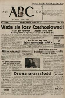 ABC : nowiny codzienne. 1938, nr285 A |PDF|