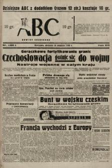 ABC : nowiny codzienne. 1938, nr286 A |PDF|