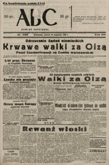 ABC : nowiny codzienne. 1938, nr289 A [ocenzurowany] |PDF|