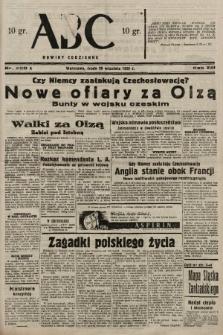 ABC : nowiny codzienne. 1938, nr290 A |PDF|