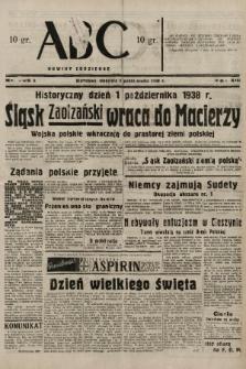 ABC : nowiny codzienne. 1938, nr295 A |PDF|