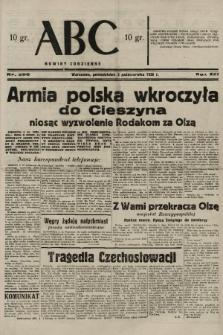 ABC : nowiny codzienne. 1938, nr296 A |PDF|
