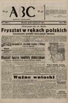 ABC : nowiny codzienne. 1938, nr297 A |PDF|