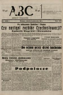ABC : nowiny codzienne. 1938, nr299 A |PDF|