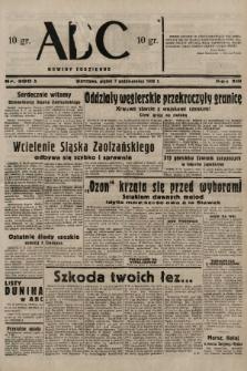 ABC : nowiny codzienne. 1938, nr300 A |PDF|