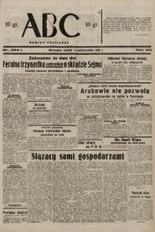 ABC : nowiny codzienne. 1938, nr304 A |PDF|