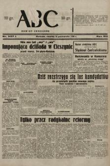 ABC : nowiny codzienne. 1938, nr307 A |PDF|