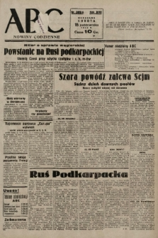 ABC : nowiny codzienne. 1938, nr309 A |PDF|