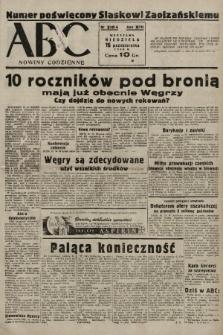 ABC : nowiny codzienne. 1938, nr310 A |PDF|