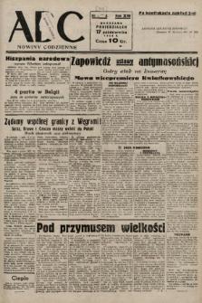 ABC : nowiny codzienne. 1938, nr312 A [ocenzurowany] |PDF|