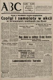 ABC : nowiny codzienne. 1938, nr313 A  PDF 