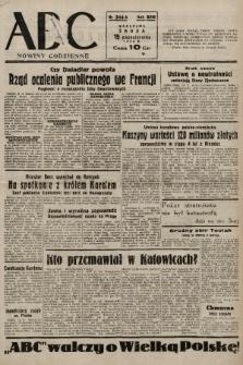 ABC : nowiny codzienne. 1938, nr314 A |PDF|