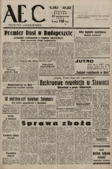 ABC : nowiny codzienne. 1938, nr316 A |PDF|