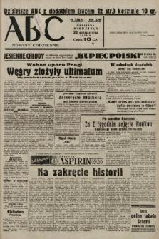 ABC : nowiny codzienne. 1938, nr318 A  PDF 