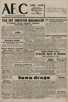 ABC : nowiny codzienne. 1938, nr319 A |PDF|