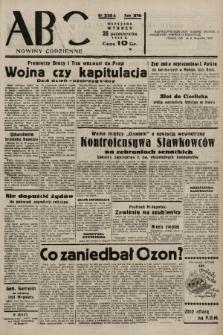 ABC : nowiny codzienne. 1938, nr320 A |PDF|
