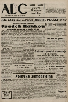 ABC : nowiny codzienne. 1938, nr321 A |PDF|