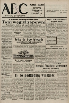 ABC : nowiny codzienne. 1938, nr324 A |PDF|