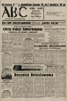ABC : nowiny codzienne. 1938, nr325 A |PDF|